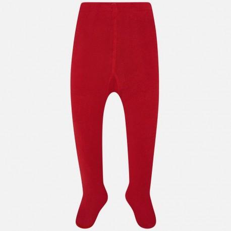 Rajstopy ciepłe gładkie dla dziewczynki Mayoral 10669-39 Czerwony