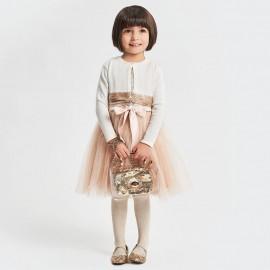 iDO Podwójna torebka z paskiem dziecięca dla dziewczynki K191-1154 złota