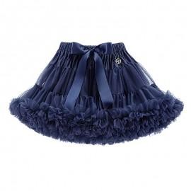 LaVashka spódnica dziewczęca tiulowa granatowa LAV25
