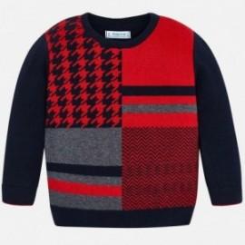 Sweter elegancki dla chłopca Mayoral 4309-80 Granatowy