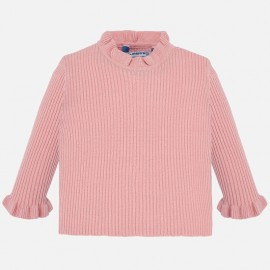 Sweter półgolf dla dziewczynki Mayoral 2005-23 róż
