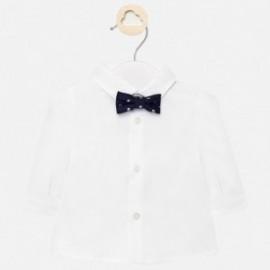 Koszula elegancka z muszką chłopięca Mayoral 1142-32 Biały