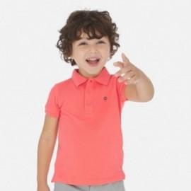Koszulka polo krótki rękaw dla chłopca Mayoral 150-83 Koral