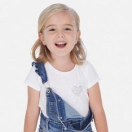 Koszulka sportowa dla dziewczynki Mayoral 174-87 Biała
