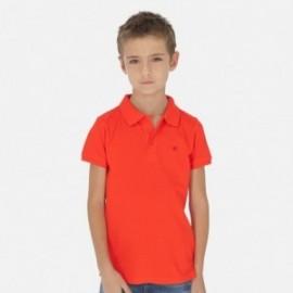 Koszulka polo krótki rękaw dla chłopca Mayoral 890-45 koral