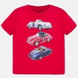 Koszulka sportowa dla chłopczyka Mayoral 1039-55 czerwona