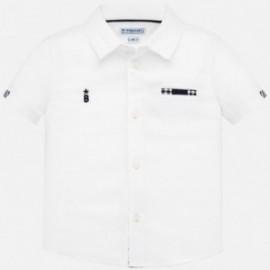 Koszula elegancka dla chłopczyka Mayoral 1157-86 biała