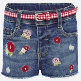 Szorty jeans dziewczęce Mayoral 1203-33 Granat