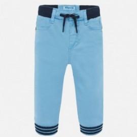 Spodnie joggery chłopięce Mayoral 1546-74 Niebieski