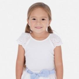Koszulka na ramiączkach dziewczęca Mayoral 3023-78 Biały