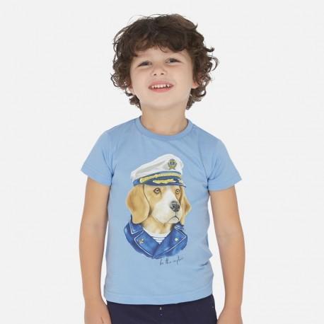 Koszulka sportowa dla chłopca Mayoral 3057-28 Niebieski