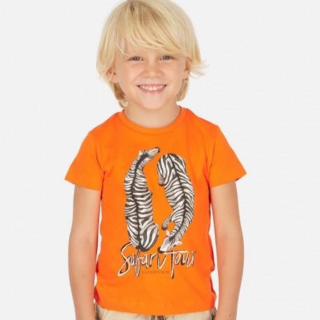 Koszulka sportowa chłopięca Mayoral 3063-93 Pomarańcz