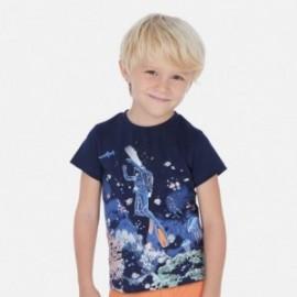 Koszulka sportowa chłopięca Mayoral 3069-35 Granatowy