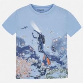 Koszulka sportowa chłopięca Mayoral 3069-37 Niebieski