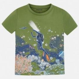 Koszulka sportowa chłopięca Mayoral 3069-38 Zielony