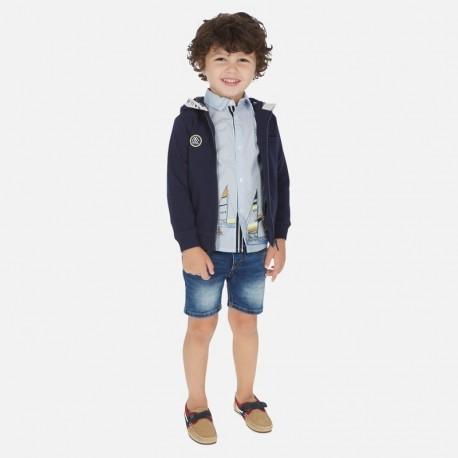 Bermudy jeansowe chłopięce Mayoral 3256-88 Granatowy