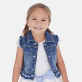 Kamizelka jeansowa dla dziewczynki Mayoral 3322-83 granat