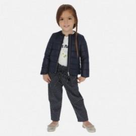 Spodnie długie w groszki dla dziewczynki Mayoral 3540-23 Granat
