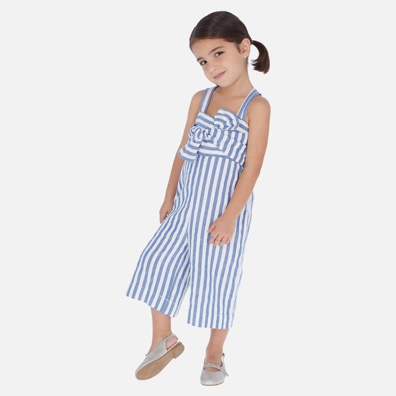 Kombinezon na ramiączkach dziewczęcy Mayoral 3817-10 Niebieski