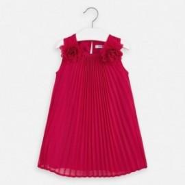 Sukienka plisowana dziewczęca Mayoral 3922-92 Czerwony