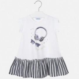 Sukienka bawełniana dla dziewczynki Mayoral 3948-29 Granatowy