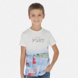 Koszulka sportowa chłopięca Mayoral 6054-61 Biały