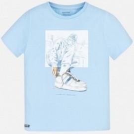 Koszulka sportowa chłopięca Mayoral 6056-22 Błękitny
