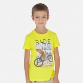 Koszulka sportowa chłopięca Mayoral 6058-32 Żółty