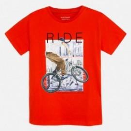 Koszulka sportowa chłopięca Mayoral 6058-34 Koralowy