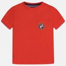 Koszulka sportowa dla chłopca Mayoral 6064-55 czerwony