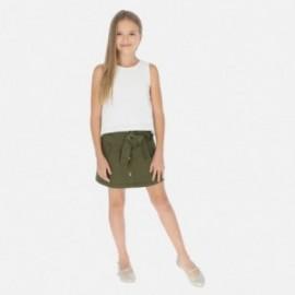 Spódnica z guzikami dla dziewczyny Mayoral 6950-19 Zielony