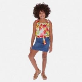 Spódnica jeansowa dziewczęca Mayoral 6952-62 Niebieski