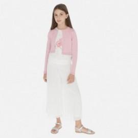 Spódnico spodnie dla dziewczynki Mayoral 6955-31 Kremowy