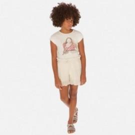 Spódnico-spodnie dziewczęce Mayoral 6957-21 Beżowy