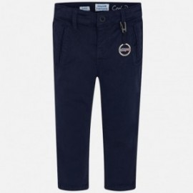 Spodnie chinos dla chłopca Mayoral 4516-88 Granat
