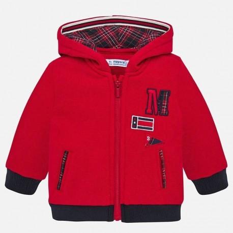 Bluza łączona sportowa dla chłopca Mayoral 2458-82 Czerwony