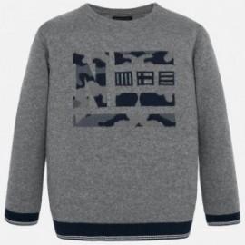 Sweter elegancki dla chłopca Mayoral 7313-30 Popiel
