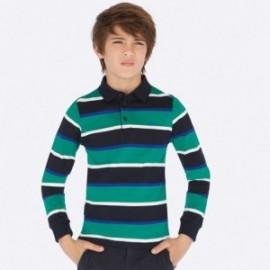 Koszulka polo dla chłopca Mayoral 7110-10 turkus