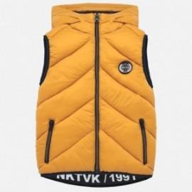 Kamizelka z kapturem dla chłopca Mayoral 7315-95 żółty