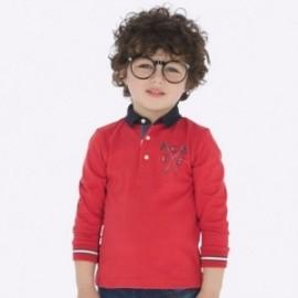 Koszulka polo dla chłopca Mayoral 4116-16 pomarańcz