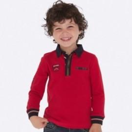 Koszulka polo dla chłopca Mayoral 4110-75 Czerwony