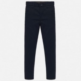 Spodnie klasyczne eleganckie dla chłopca Mayoral 530-62 Granatowe