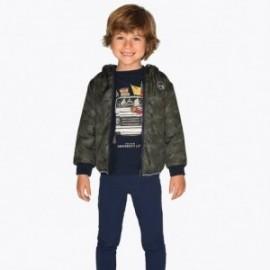 Spodnie dzianinowe dla chłopca Mayoral 4518-64 granat