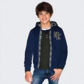 Bluza z kapturem dla chłopca Mayoral 7449-33 granat