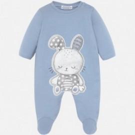 Piżama bawełniana dla dziewczynki Mayoral 2709-31 niebieski