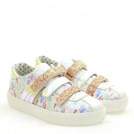 Sneakersy dziewczęce Primigi 5433500 perłowy