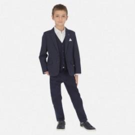 Spodnie eleganckie chłopięce Mayoral 6518-69 Granatowy