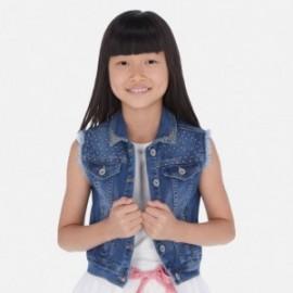 Kamizelka jeansowa dziewczęca Mayoral 6315-91 Niebieski
