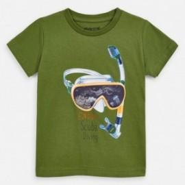 Koszulka sportowa chłopięca Mayoral 3070-67 Zielony