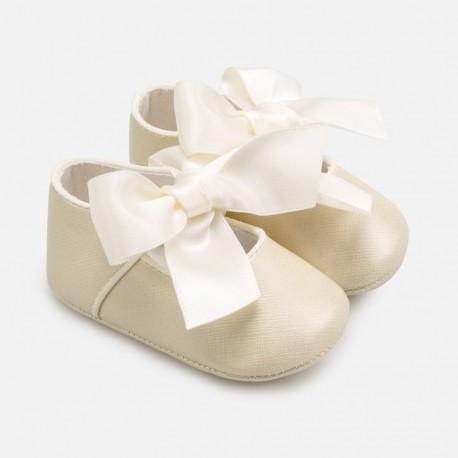 Buciki eleganckie dla dziewczynki Mayoral 9284-31 złote